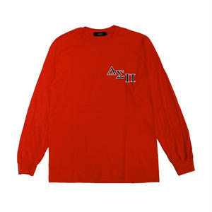 DIASPORA SKATEBOARDS OUTLINE MAGIC CIRCLE LONGSLEEVE RED