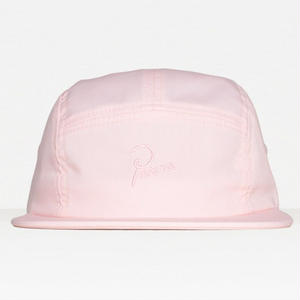 BY PARRA 5 PANEL VOLLEY HAT SIGNATURE LOGO PINK
