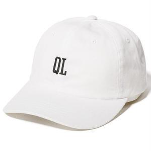 THE QUIET LIFE MICRO QL DAD HAT WHITE