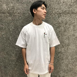 SOUR  SOLUTION QUETZAL TEE WHITE