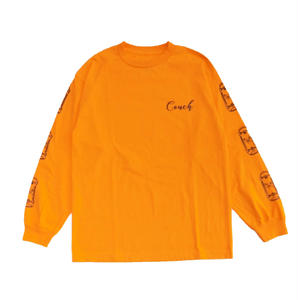 COUCH SURF CO CRUISER LONG SLEEVE ORANGE