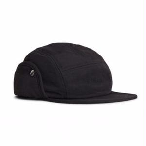 NORSE PROJECTS 6PANEL EAR FLAP NYLON BLACK