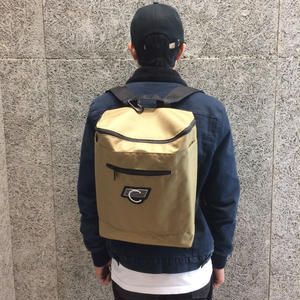 COMA BRAND CANVAS BACKPACK COYOTE