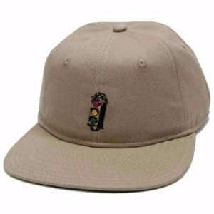 Traffic Skateboards Stop/Go Snapback  Khaki