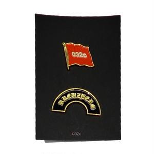 """032C """"Allegiance"""" Pin Set"""