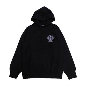 Diaspora kateboards SMALL MAGIC CIRCLE HOODED SWEAT BLACK