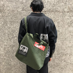DREAMLAND SYNDICATE TOTE BAG WITH PACHES MIDNIGHT KHAKI
