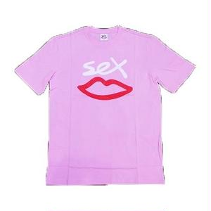SEX SKATEBOARDS SEX LOGO TEE PINK