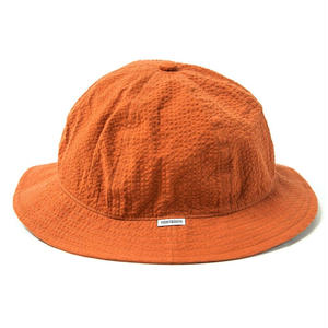 TIGHTBOOTH PRODUCTION SEERSUCKER HAT ORANGE