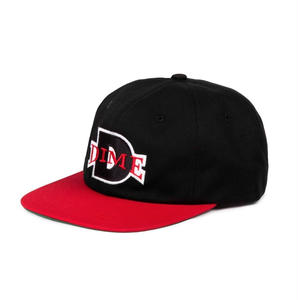 DIME BALL HAT BLACK/RED