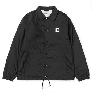 CARHARTT WIP SPORTS COACH JACKET BLACK