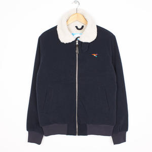 BY PARRA TOPPER HARLEY WOOL JACKET NAVY