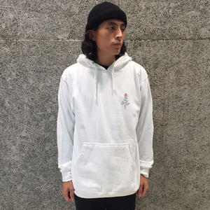 THE QUIET LIFE ROSE PULLOVER HOOD WHITE