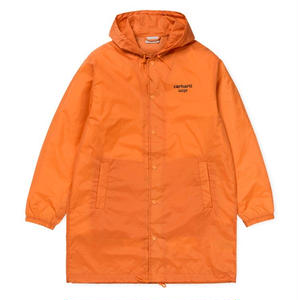 CARHARTT WIP HOODED ASTRA COACH JACKET ORANGE