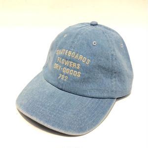 PARK DELICATESSEN WINDOWS CAP DENIM BLUE