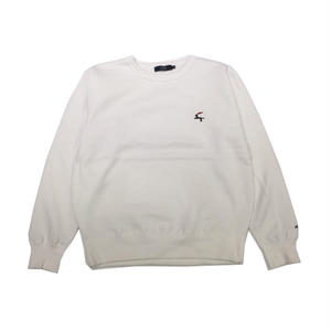 Diaspora Skateboards DET CREWNECK SWEAT WHITE