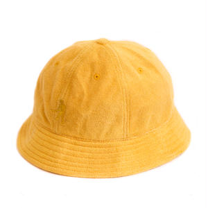 PASS~PORT WORKERS TERRY BUCKET HAT YELLOW