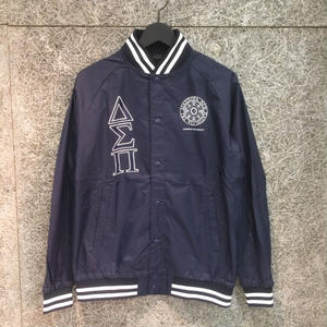Diaspora Skateboards STADIUM JACKET NAVY