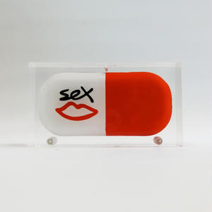 "SEX SKATEBOARDS × SARAH'S BAG ""PILL BAG"""