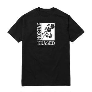 ERASED × MORTAR BLOSSOM SSTEE BLACK