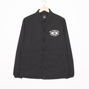BY PARRA TWISED COACH JACKET BLACK