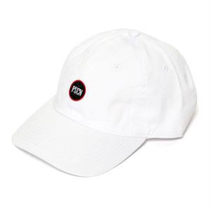 PSCN CIRCLE LOGO CAP WHITE