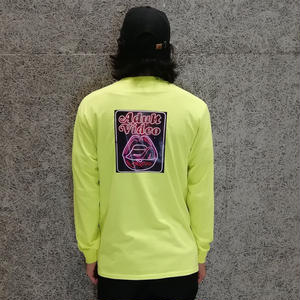 SNAKE PORNO VIDEO LS TEE SAFETY YELLOW (MORTAR EXCLUSIVE)