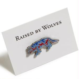 RAISED BY WOLVES GEOWULF ENAMEL PIN