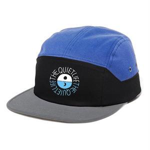 THE QUIET LIFE SOLAR 7 PANEL HAT BLUE/BLACK/GREY