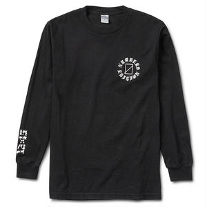 Numbers Edition AYALA SAD DAWG-L/S T-SHIRT BLACK