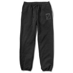 Numbers Edition LOGOTYPE FLEECE BOTTOM BLACK