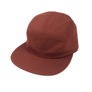 BELIEF IVY DOMESTIC 5PANEL CAP RUST
