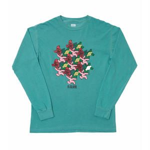 MN07 IN BLOOM LONG SLEEVE T-SHIRTS SEAFORM