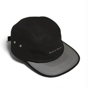 RAISED BY WOLVES 3M VISOR CAMP CAP BLACK