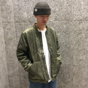 CARHARTT WIP NEWTON BOMBER LINER ROVER GREEN