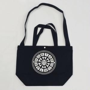 MORTAR ORIGINAL CANVAS SHOULDER BAG BLACK