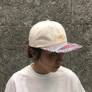 PARK DELICATESSEN ASTRID CAP WHITE / MULTI BILL