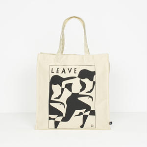 BY PARRA LEAVE TOTE BAG