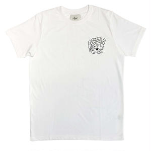 ASSID DOG SHIT TEE WHITE