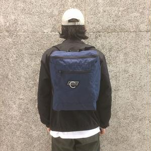 COMA BRAND CANVAS BACKPACK NAVY
