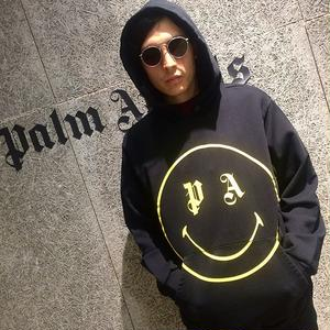 PALM  ANGELS  SMILING HOODY
