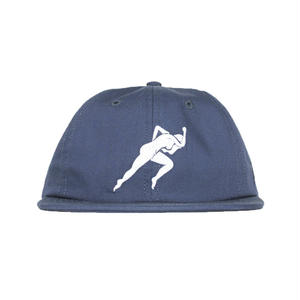 BY PARRA FLEX VISOR HAT LUST NAVY