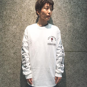 CHOCOLATE SKATEBOARDS DREAM ON L/S TEE WHITE