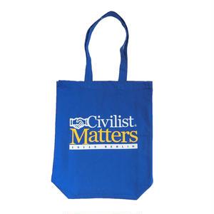 CIVILIST MATTERS BEACHBAG BLUE