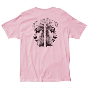 THE QUIET LIFE FACE OFF TEE PINK