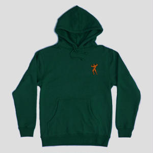 "PASS~PORT ""MORPHED"" HOODIE FOREST GREEN"