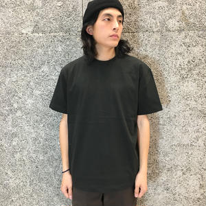 ALEXANDER WANG  HIGH TWIST SHORT SLEEVE    BLACK