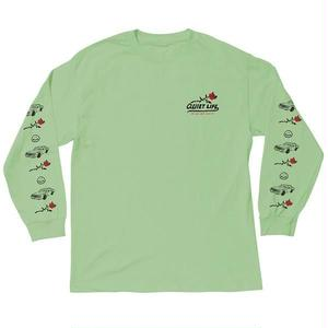 THE QUIET LIFE HEAVY SMILE LONG SLEEVE MINT