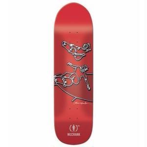 GIRL SKATEBOARDS (RED) DECK 8.5