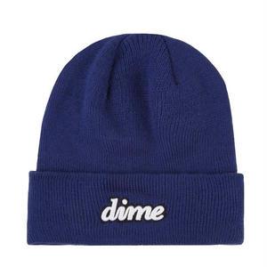 DIME CURSIVE BEANIE SAFETY BLUE